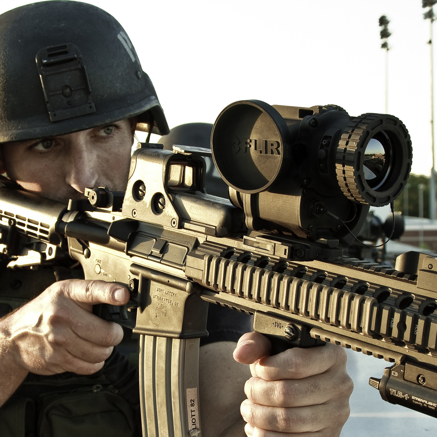 FLIR ThermoSight® T50 Clip-On Thermal Weapon Sight